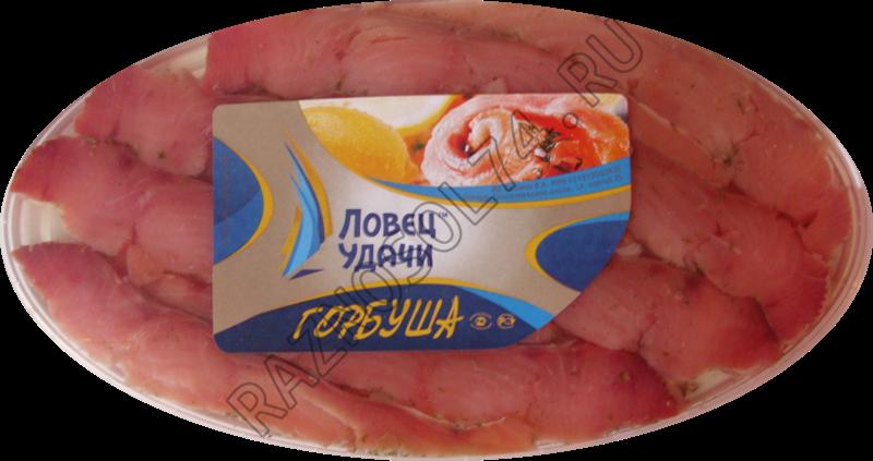 Горбуша в масле Овал 180 гр.