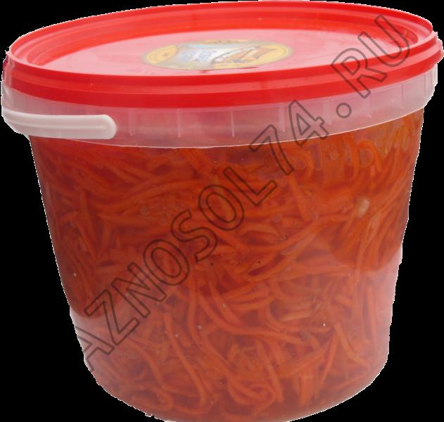 Морковь по-корейски 2,5 кг.