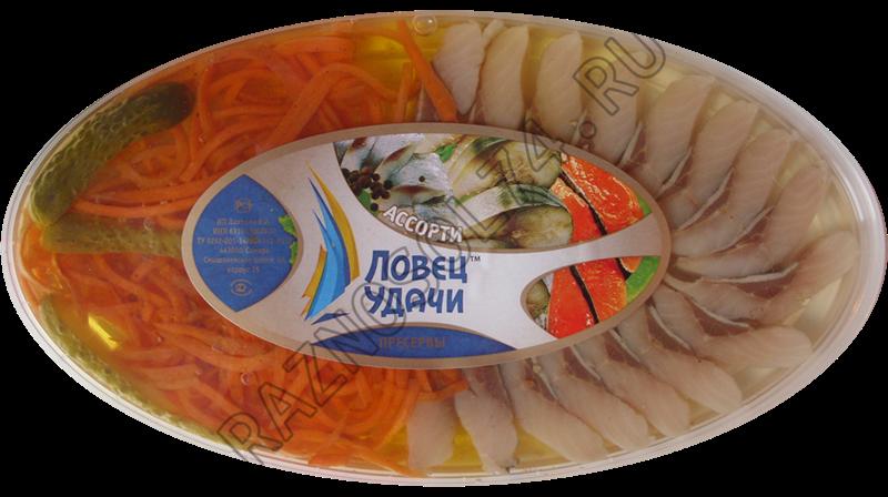 """Ассорти """"Закуска рыбака"""" 180 гр."""